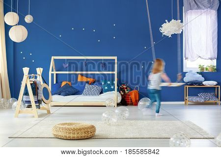 Child Bedroom With Swing