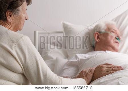 Senior Couple's Last Moments