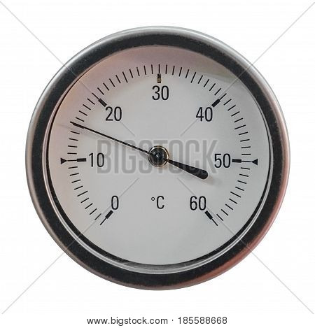 image of manometer isolated on white background