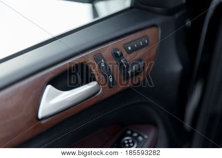 Detail Of The Car Interior