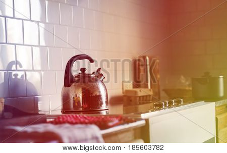 Kettle Stove Cook Kitchen House