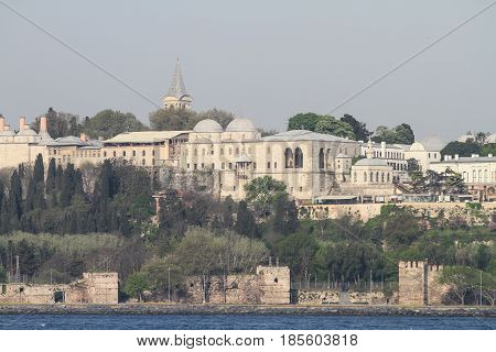 Topkapi Palace In Istanbul City