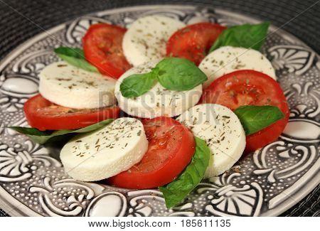 Italian Cuisine - Salad Capreze