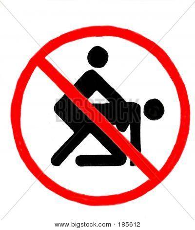 Надписи запрещающие порно
