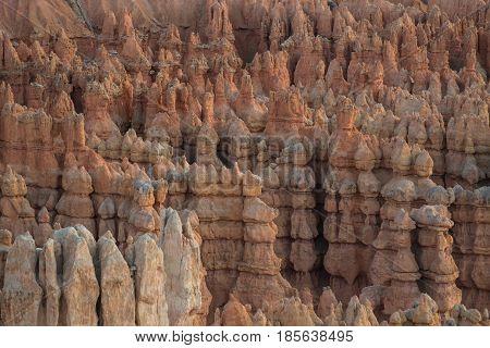 Hoodoo Army in Bryce Canyon in Utah