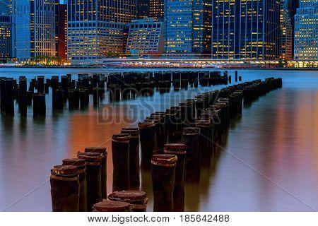 Great View Of Manhattan Skyline