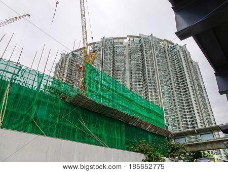 Buildings In Kowloon, Hong Kong