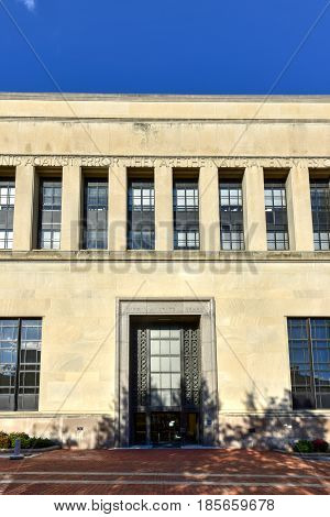 Virginia State Library - Richmond, Virginia