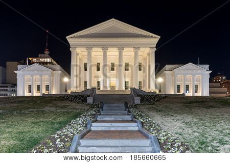 Virginia State Capitol - Richmond, Virginia
