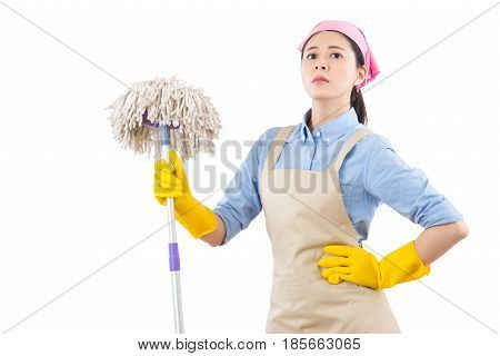 Confidence Successful Housewife Standing