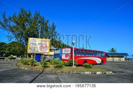 Street In Mahebourg, Mauritius