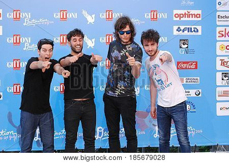Giffoni Valle Piana Sa Italy - July 22 2016 : Street Clerks at Giffoni Film Festival 2016 - on July 22 2016 in Giffoni Valle Piana Italy