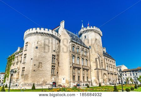 Town Hall of Angouleme, an ancient castle - Charente, France