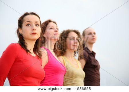 Four Young Women