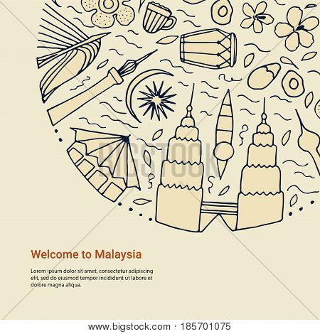 Welcome To Malaysia Design Concept.