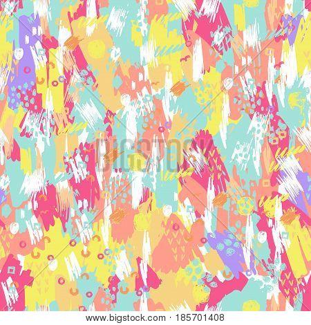 Artistic Vector Seamless Pattern.