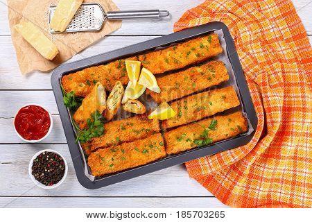 Crispy Breaded Baked Chicken  Enchiladas