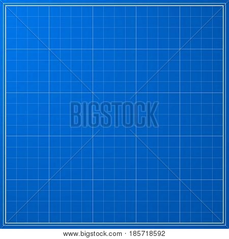 Vector blueprint background texture. Technical backdrop paper. Concept Technical Industrial Business Engineering