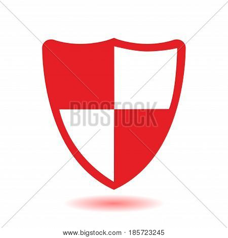 Shield icon. Protection concept.  Software designed to detect and destroy computer viruses.