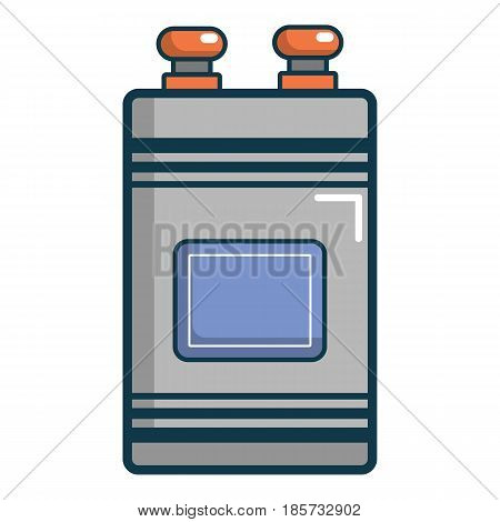 Oil Industrial equipment icon. Cartoon illustration of oil Industrial equipment vector icon for web