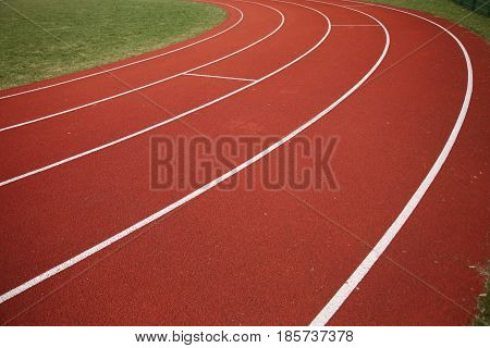 Surface Of Running Track