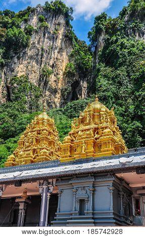 Exterior Temple At Batu Caves, Malaysia