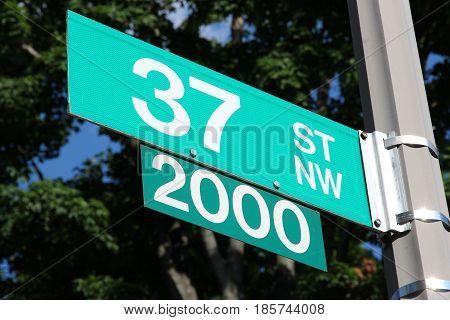 Street In Washington Dc