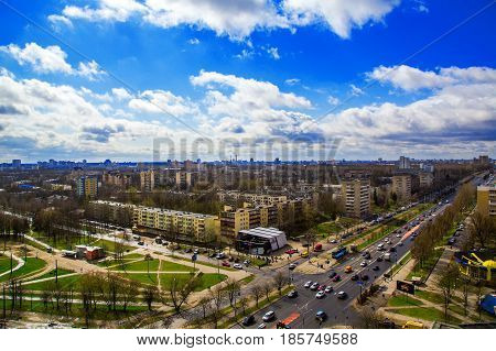 Minsk Belarus the architectural complex