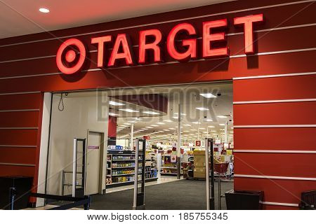 Indianapolis - Circa May 2017: Target Retail Store. Target Sells Home Goods Clothing and Electronics XIII
