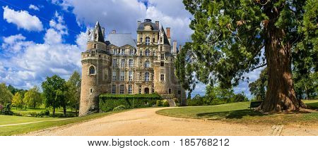 One of the most beautiful and mysterious castles of France - Chateau de Brissac