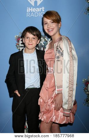 LOS ANGELES - MAY 6:  Gabriel Bateman, Talitha Bateman at the
