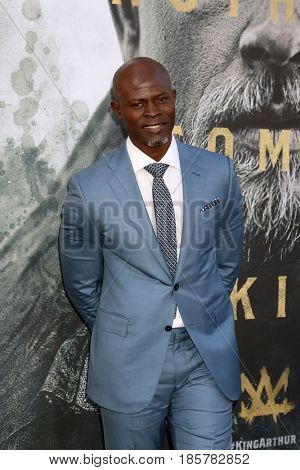 LOS ANGELES - MAY 8:  Djimon Hounsou at the