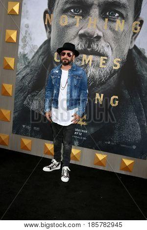 LOS ANGELES - MAY 8:  AJ McLean at the