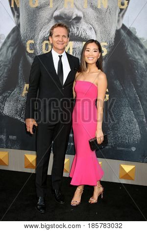 LOS ANGELES - MAY 8:  Sebastian Roche, Alicia Hannah Kim at the