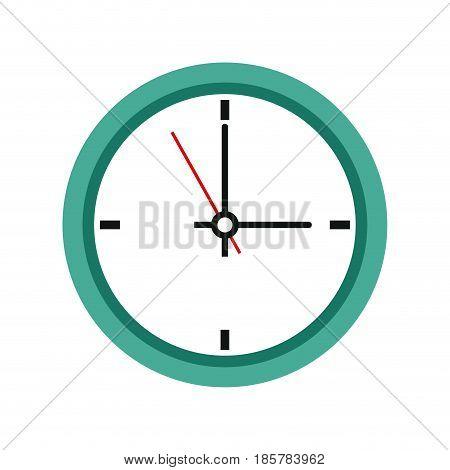 office clock time business symbol. clock icon design vector illustration