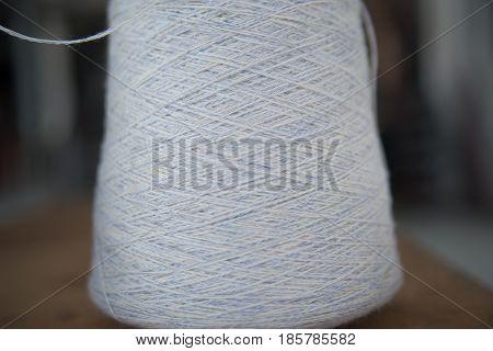 bay niton grey closeup at the garment factory
