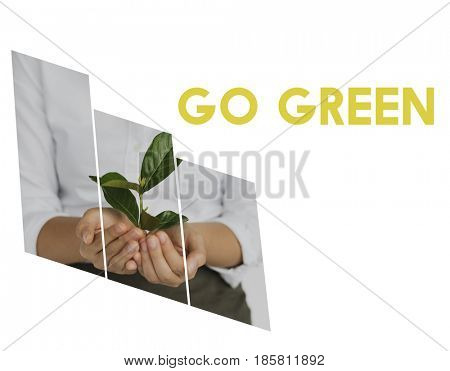 Go green conservation ecology environment natural
