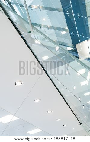 Ceiling And Glass