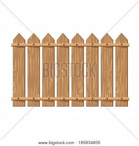 Wooden Fence Vector Illustration Vector Photo Bigstock