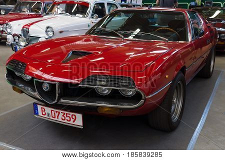 PAAREN IM GLIEN GERMANY - MAY 19: Sports coupe Alfa Romeo Montreal