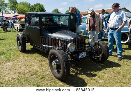 Paaren Im Glien, Germany - May 19: Car Ford Model T Coupe (1927), The Oldtimer Show In Mafz, May 19,