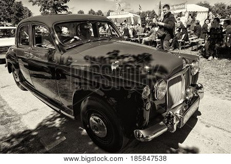 Paaren Im Glien, Germany - May 19: Midsize Car Rover P4 100 (sepia),