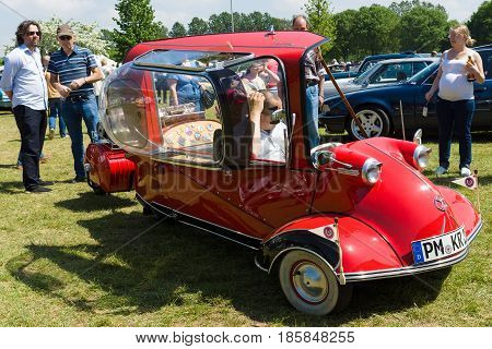 The Messerschmitt Kr200, Or Kabinenroller (cabin Scooter), Was A Three-wheeled Bubble Car Designed B