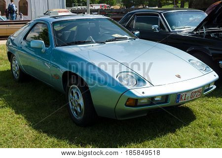 Paaren Im Glien, Germany - May 19: The The Porsche 928 Is A Sports-gt Car That Was Sold By Porsche A