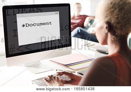 Document Legal Paper Forms Contract Window Popup