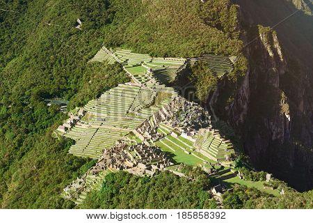 Ancient Inca Town
