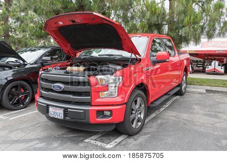 Ford F-150 Lariat On Display