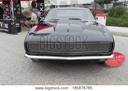 Chevrolet Camaro On Display