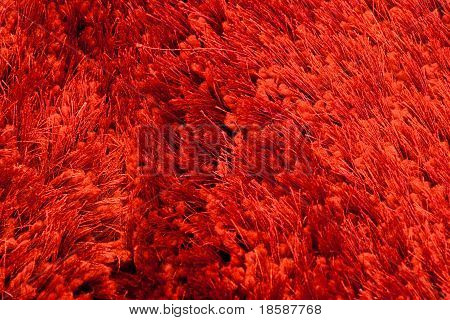 Red Rug Threads And Fibres