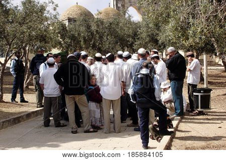 The Jewish Temple Mount Faithful Movement
